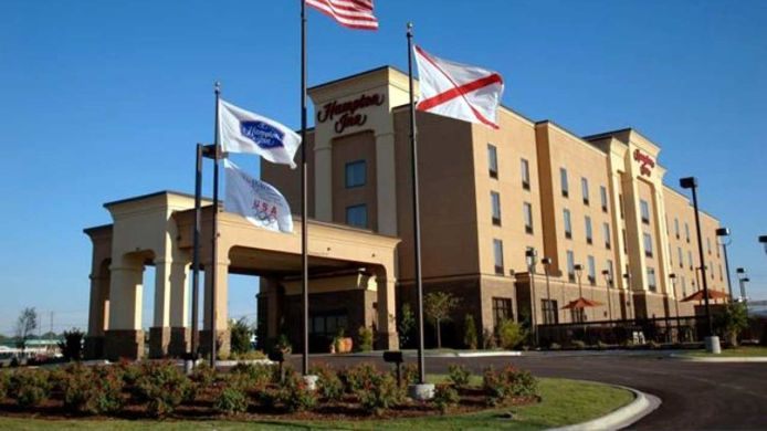 Exterior view Hampton Inn Calera