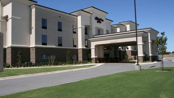 Exterior view Hampton Inn Siloam Springs
