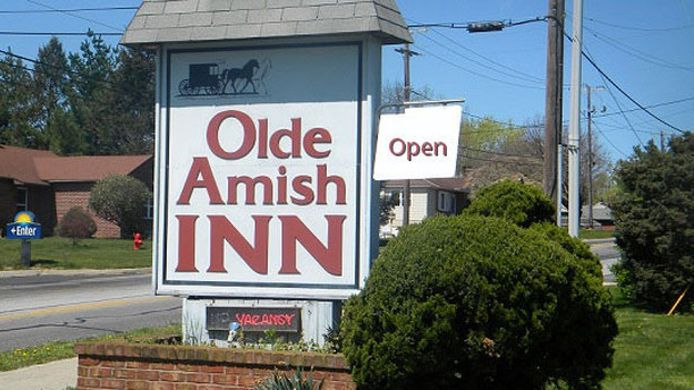 Exterior view OLDE AMISH INN RONKS
