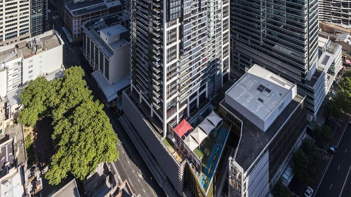 Exterior view MERITON WORLD TOWER
