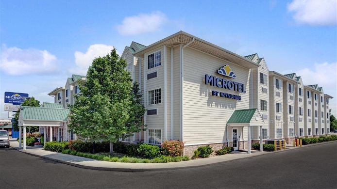 Exterior view MICROTEL INN&SUITES INDIANAPOLIS AIRPORT