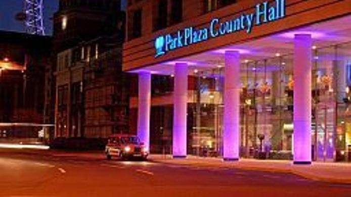 Exterior view Park Plaza County Hall London