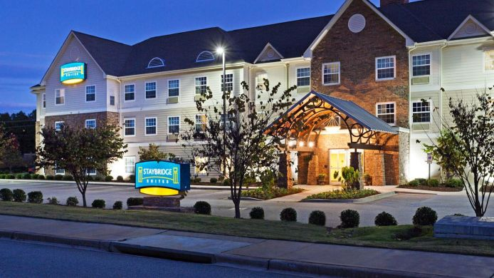 Exterior view Staybridge Suites GREENVILLE I-85 WOODRUFF ROAD