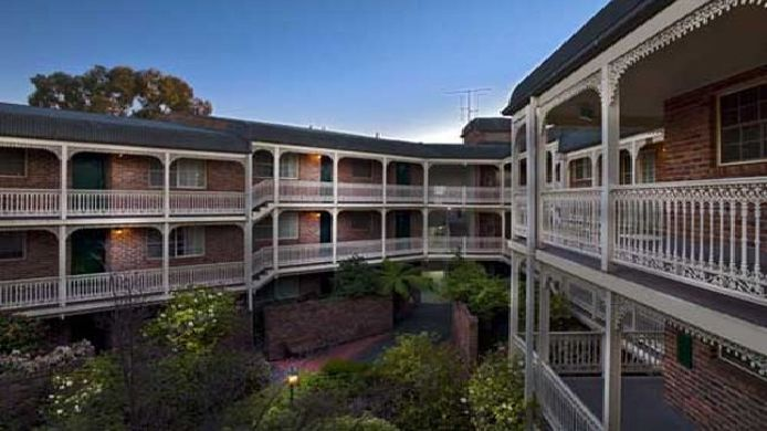 Exterior view MEDINA APARTMENTS CANBERRA