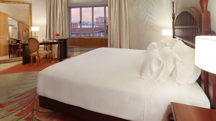 Junior suite NH Collection Madrid Paseo del Prado