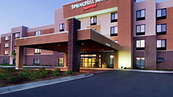 Exterior view SpringHill Suites Sioux Falls