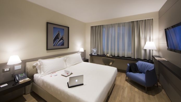 Doppelzimmer Standard UNAHOTELS Bologna Fiera
