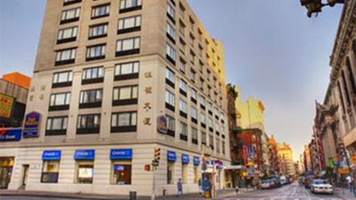 Exterior view BEST WESTERN BOWERY HANBEE HTL