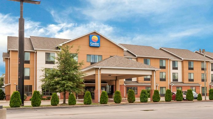 Exterior view Comfort Inn & Suites Sikeston