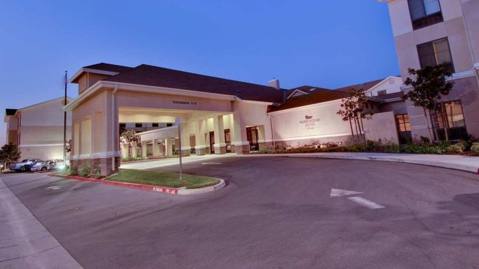 Exterior view Homewood Suites by Hilton Fresno