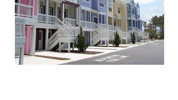 Exterior view Cambridge Cove At Bermuda Bay By Kees Vacations