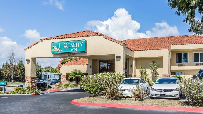 Buitenaanzicht Quality Inn Near Long Beach Airport