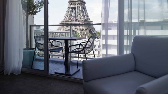 Double room (standard) Pullman Paris Tour Eiffel