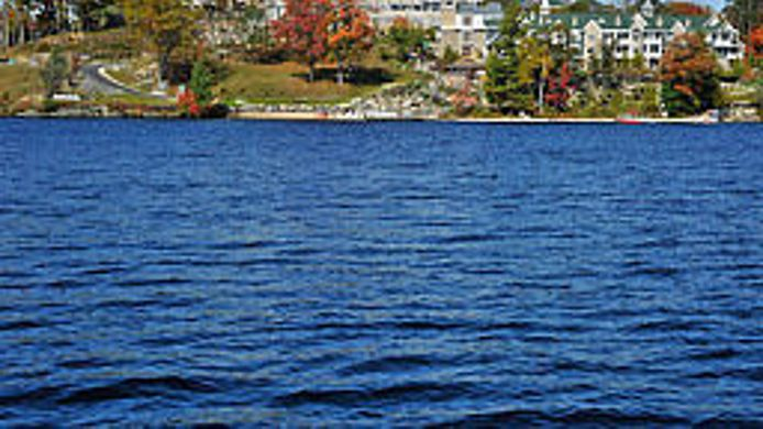 Exterior view JW Marriott The Rosseau Muskoka Resort & Spa