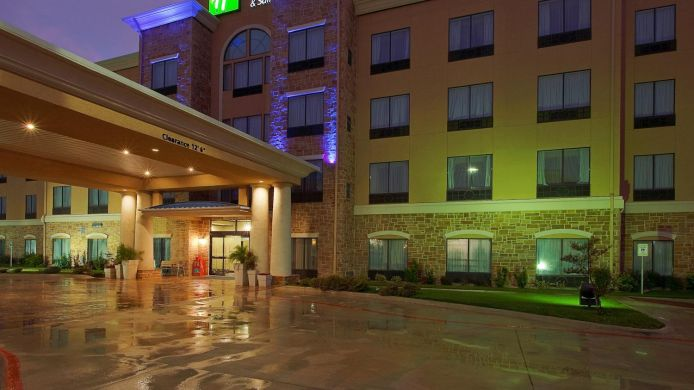 Buitenaanzicht Holiday Inn Express & Suites SEGUIN