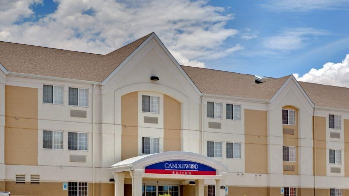 Exterior view Candlewood Suites NOGALES