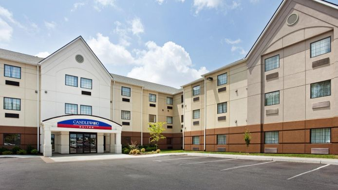 Exterior view Candlewood Suites KNOXVILLE AIRPORT-ALCOA