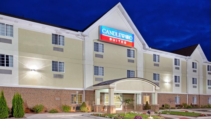 Buitenaanzicht Candlewood Suites SOUTH BEND AIRPORT