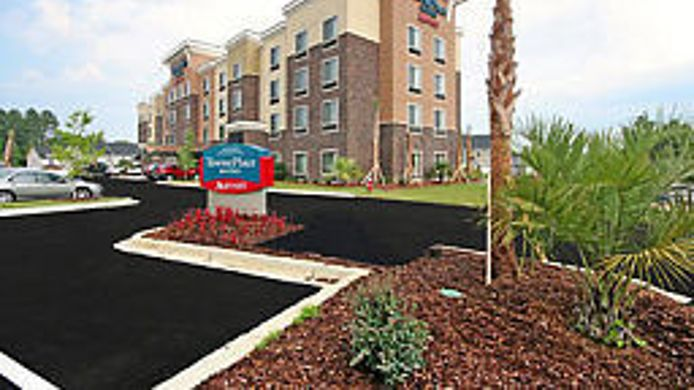Exterior view TownePlace Suites Columbia Southeast/Fort Jackson
