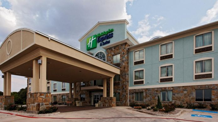 Buitenaanzicht Holiday Inn Express & Suites WEATHERFORD
