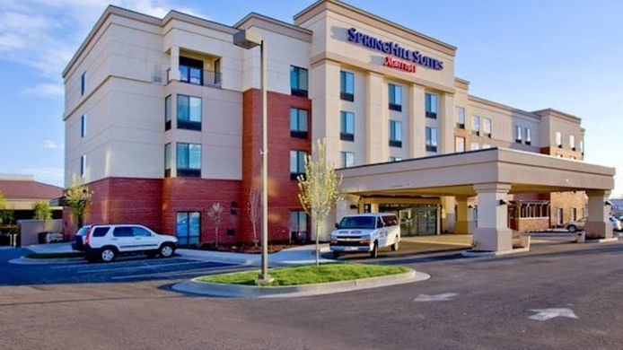 Exterior view SpringHill Suites Provo