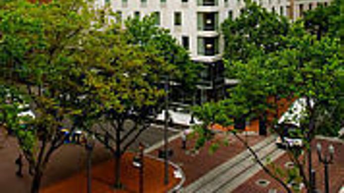 Exterior view Courtyard Portland City Center