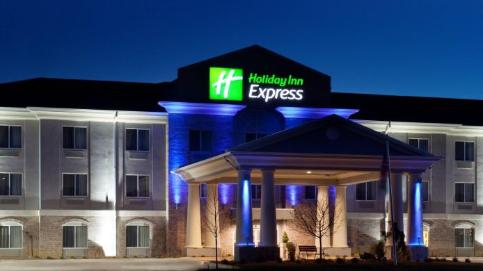 Exterior view Holiday Inn Express LE ROY -  BLOOMINGTON AREA