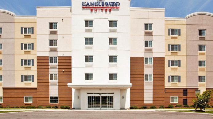 Exterior view Candlewood Suites NORFOLK AIRPORT