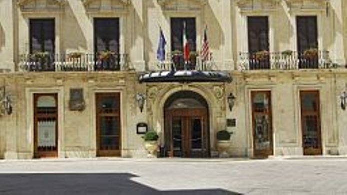 Exterior view Patria Palace Lecce