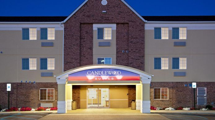 Exterior view Candlewood Suites INDIANAPOLIS - SOUTH