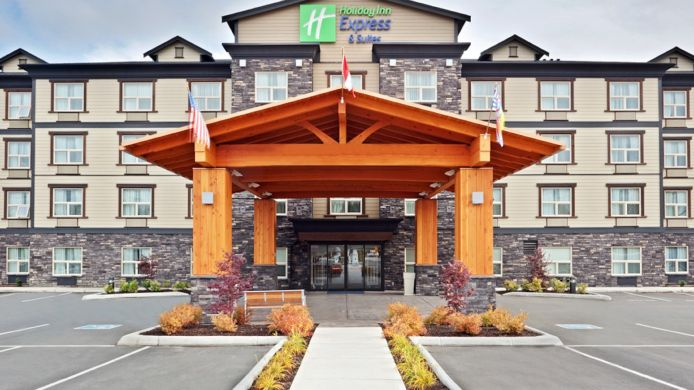 Buitenaanzicht Holiday Inn Express & Suites COURTENAY COMOX VALLEY SW