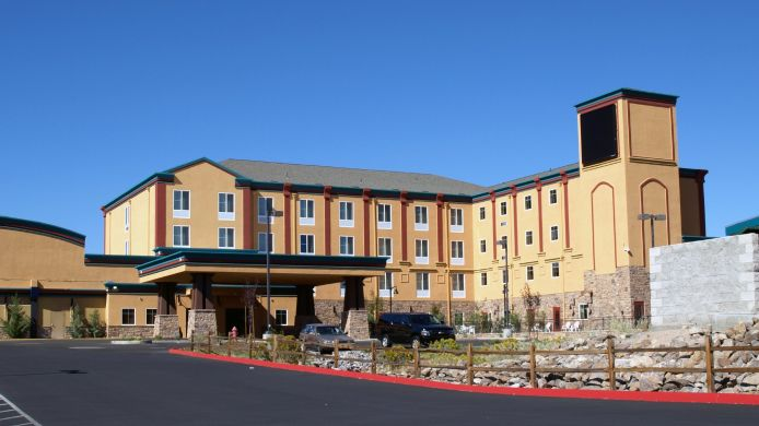Exterior view DIAMOND MOUNTAIN CASINO HOTEL