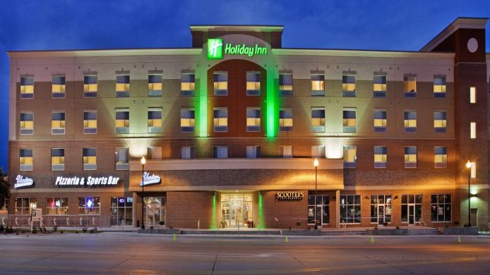Buitenaanzicht Holiday Inn OMAHA DOWNTOWN-AIRPORT