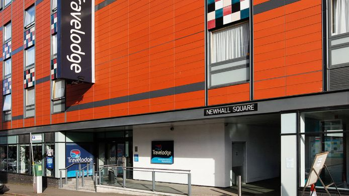 Exterior view TRAVELODGE BIRMINGHAM CENTRAL NEWHALL ST