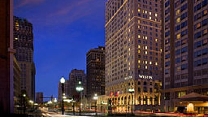 Buitenaanzicht The Westin Book Cadillac Detroit
