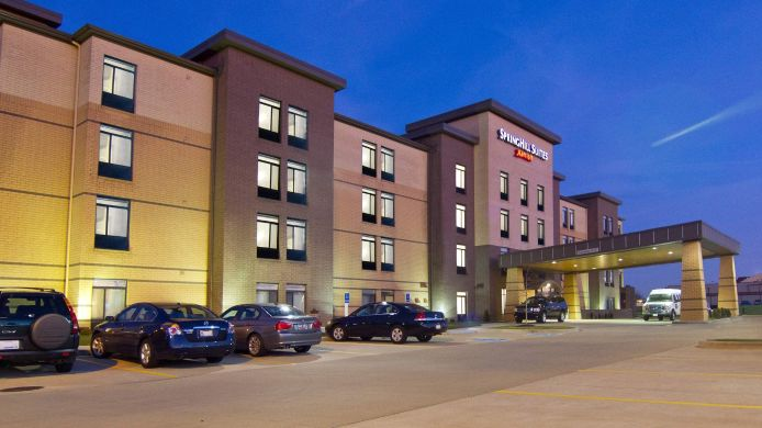 Exterior view SpringHill Suites Cincinnati Airport South