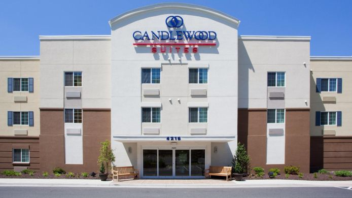 Exterior view Candlewood Suites ABERDEEN-EDGEWOOD-BEL AIR