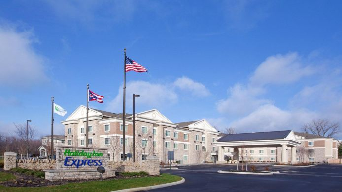 Buitenaanzicht Holiday Inn Express COLUMBUS - DUBLIN