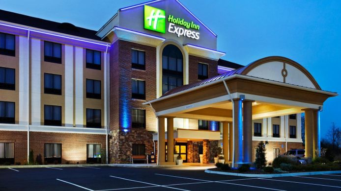 Buitenaanzicht Holiday Inn Express JOHNSON CITY