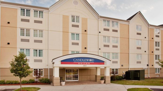 Buitenaanzicht Candlewood Suites CHESAPEAKE/SUFFOLK