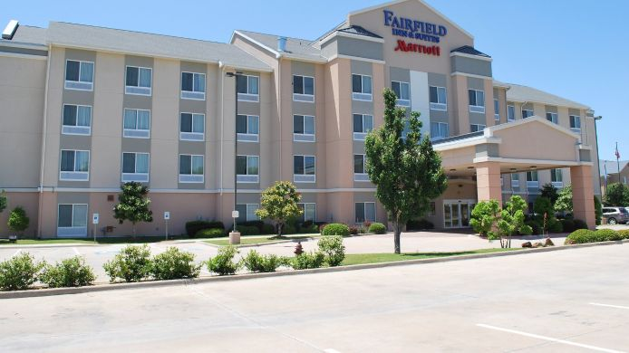 Buitenaanzicht Fairfield Inn & Suites Weatherford