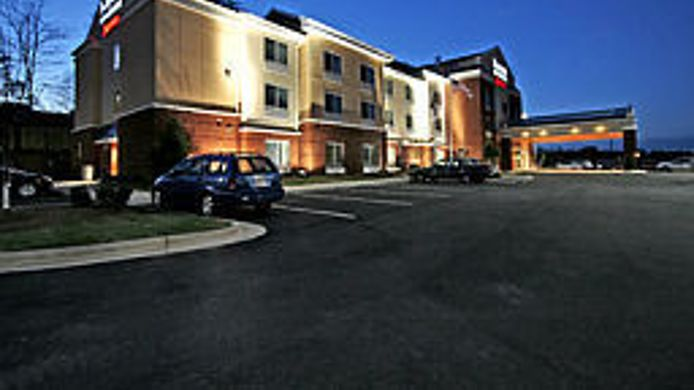 Buitenaanzicht Fairfield Inn & Suites Asheboro
