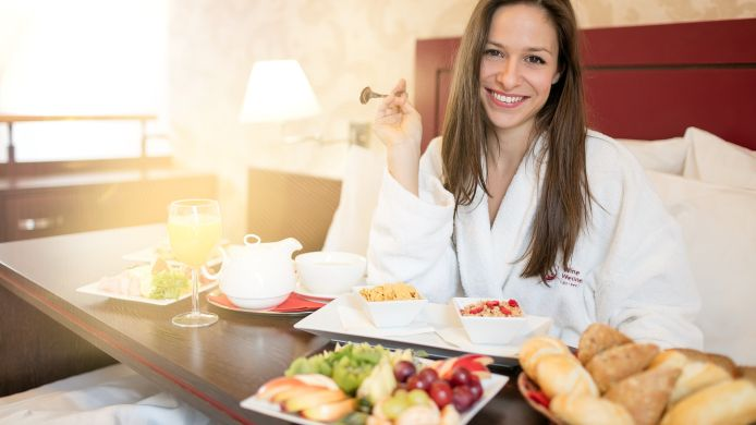 Breakfast buffet Centro Wine & Wellness