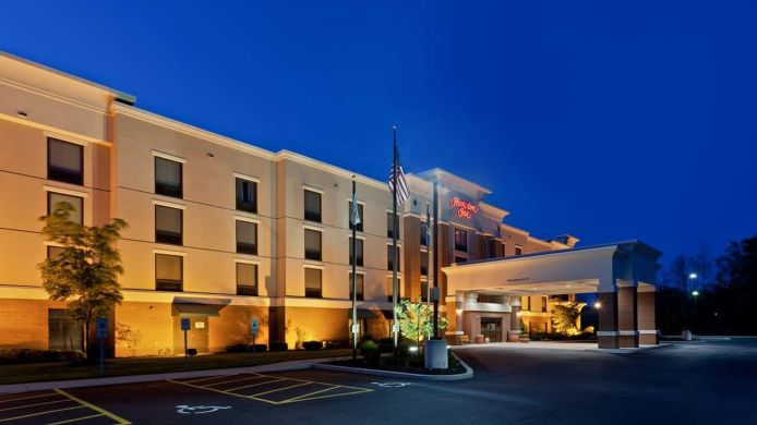 Buitenaanzicht Hampton Inn Rochester-Webster
