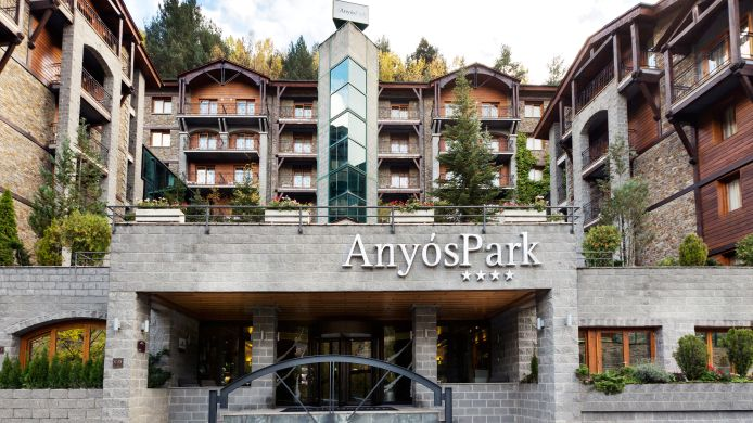 Exterior view Hotel AnyosPark Mountain Resort