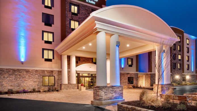 Buitenaanzicht Holiday Inn Express & Suites WILLIAMSPORT