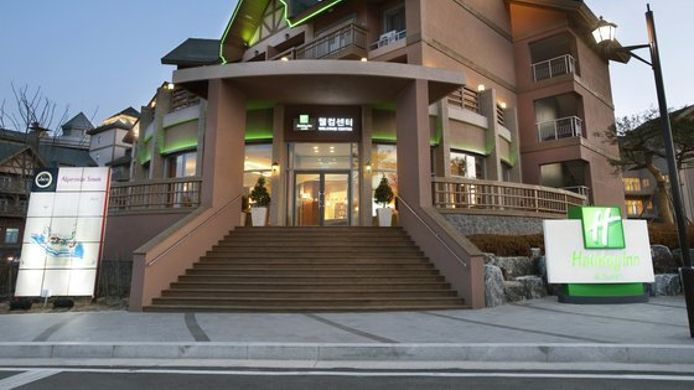 Exterior view Holiday Inn Hotel & Suites ALPENSIA PYEONGCHANG SUITES