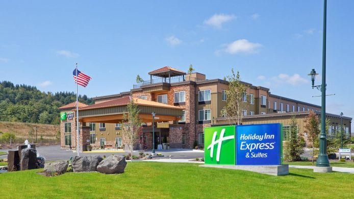 Buitenaanzicht Holiday Inn Express & Suites SEQUIM