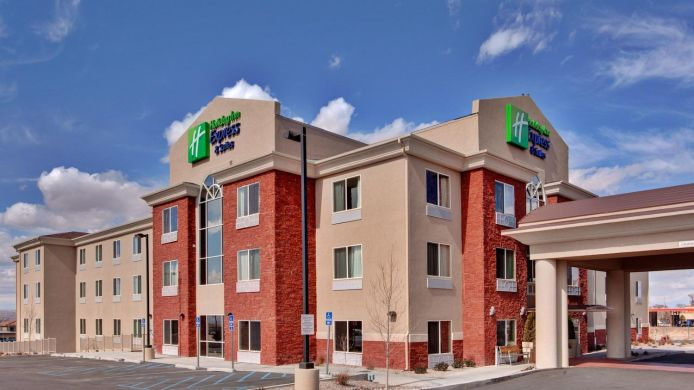 Buitenaanzicht Holiday Inn Express & Suites ALBUQUERQUE AIRPORT