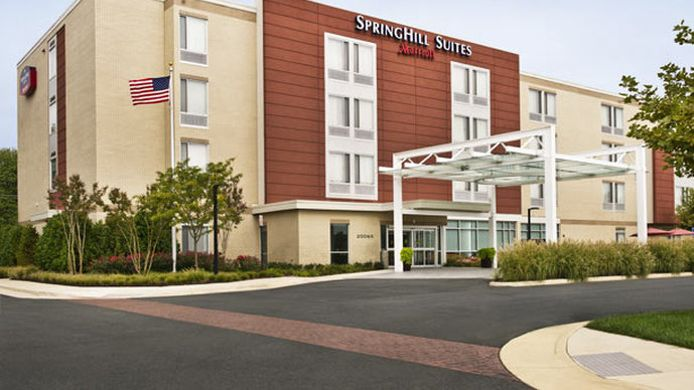 Exterior view SpringHill Suites Ashburn Dulles North